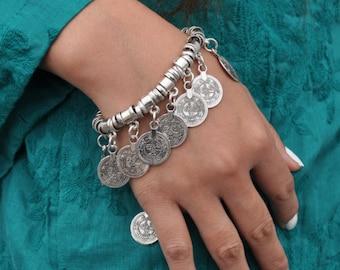 Antioch boho silver bracelet
