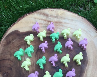 Flamingo Shaped Soaps / 1 Dozen