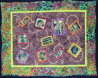 Handmade Art Quilt - Windows 2013