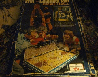 1973 Coleco Wilt Chamberlain Basketball Game in Original Box