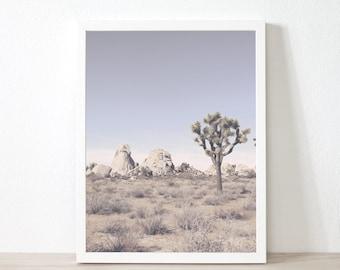 Joshua Tree Art Print, Digital Printable Photography Joshua Tree Poster Desert Print Art Photography Printable Download Wall Art Decor de9cp