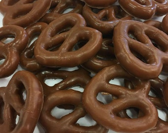 Chocolate Covered Pretzel Soap - Pretzel Gift Set - 18 Soaps - Free U.S. Shipping - You Choose Scent - Football Party - Birthdays