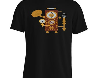 Steampunk Clock Men's T-Shirt n969m