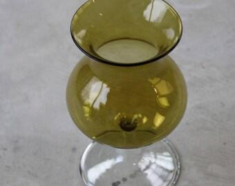 Small Balloon Glass Vase