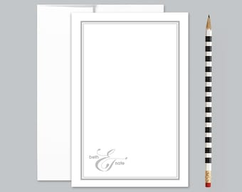 Wedding thank you notecards, Thank you notes, correspondence cards, gifts under 20, PS058