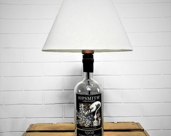 Sipsmith V.J.O.P. Dry Gin: table lamp handcrafted in Berlin
