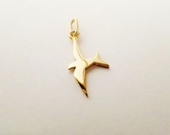 pendant swallow GOLD