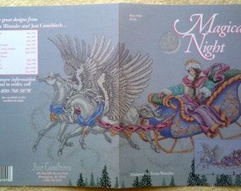 Teresa Wentzler Cross Stitch Chart Magical Night 1990 Just Cross Stitch OOP