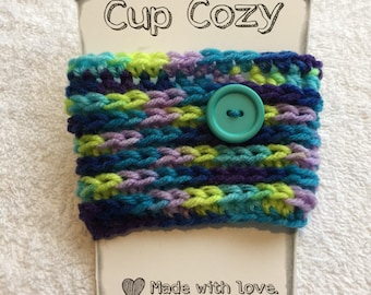 Bright Coffee Cozy