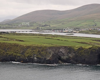 Valentia Island, Bridge Print, Port Magee Photo, Ireland Photography, Portmagee, Irish Landscape, Wall Art 11 x 14 Artwork 8 x 10 Photograph
