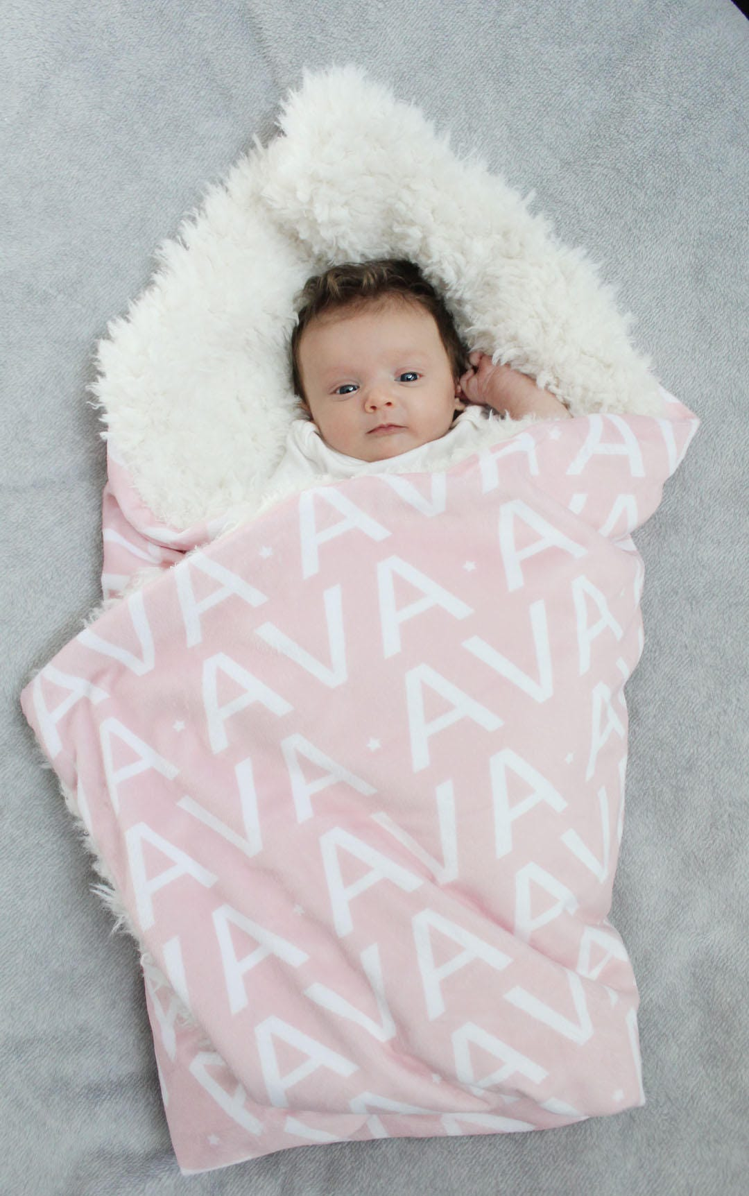 Personalized baby blanket faux fur minky lovey name blanket baby personalized baby blanket faux fur minky lovey name blanket baby gift cloud blanket llama grey newborn gift plush photo prop toddler child negle Gallery