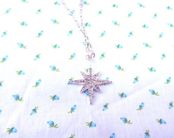 Star Necklace / North Star Necklace / women's jewelry / women / jewelry / Star / Celestial Jewelry