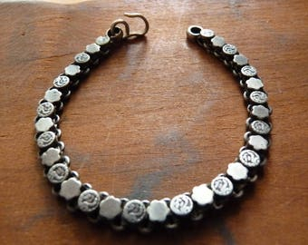 Antique sterling bracelet from India