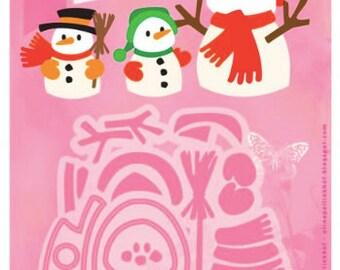 Snowman Cutting Template Kit