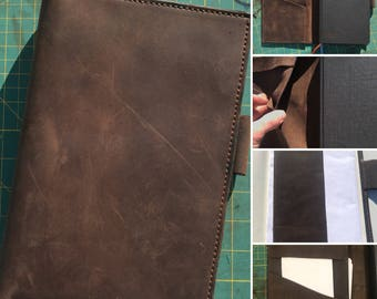 Leather Full Focus planner cover