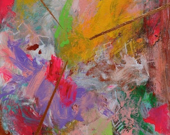 ORIGINAL Abstract Painting. Title: