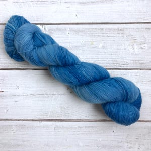 I Just Blue Myself - Arrested Development - Hand Dyed MCN Fingering Yarn - Superwash Merino/Cashmere/Nylon Blend - 435 Yards - 100 Grams