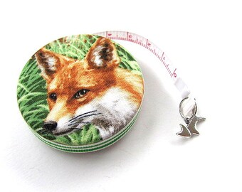 Tape Measure  Realistic Foxes  Retractable Measuring Tape