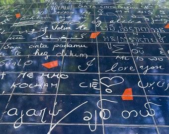 Paris Photography I love you wall 300 languages Montmartre fine art print