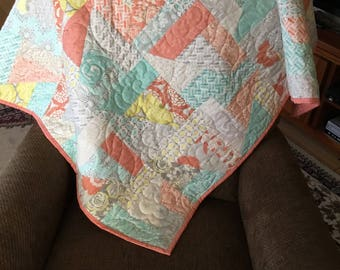 Pastel Quilt, Quilts for Sale, Handmade Quilts, Quilts Handmade, Homemade Quilts, Quilts Homemade, Baby Quilts, Quilts for Baby
