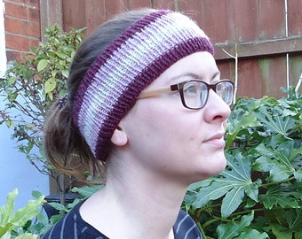Rezare Headband Knitting Pattern PDF Download