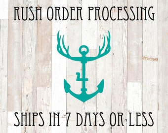 KINGFOUR RUSH Order Processing Fee (option goes in your cart as well as your item wanted)