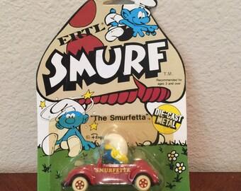 """Smurf ERTL """"The Smurfetta"""""""