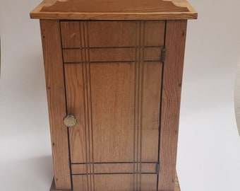 Rustic Wood Cabinet  |  Apothecary Cabinet  |  Large Curio Cabinet |  Rustic Medicine Cabinet  |  Vintage Wood Cupboard | Storage Solution