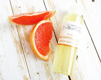 Make up Remover, Face Cleanser, Natural Cleanser, Organic Cleanser, Face Toner, Orange Cleanser, Pink Grapefruit, Make up Cleanser