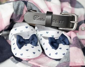 Baby children kids name belt small personalised belt boy belt girl belt