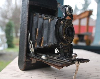Antique Kodak No. 2 Folding Autographic Brownie Camera