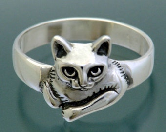 Moonpie Ring - Cat Ring - Size 3 to 9.5