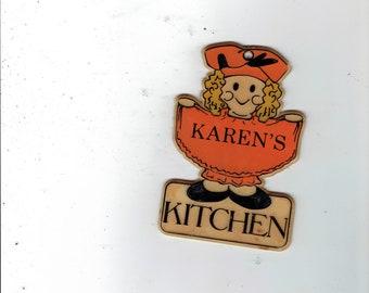 karen's kitchen sign