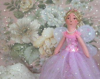Christmas Tree Topper pink Blossom Fairy