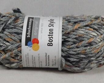 Skein of Mittelgrau Original Boston Style Yarn - Schachenmayr