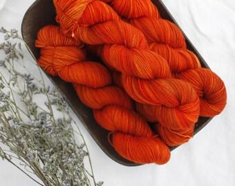 HOT in the CITY TONIGHT! - Hand Dyed Yarn - Sock Yarn - Fingering Yarn - Superwash Merino / Nylon  - 100 gms