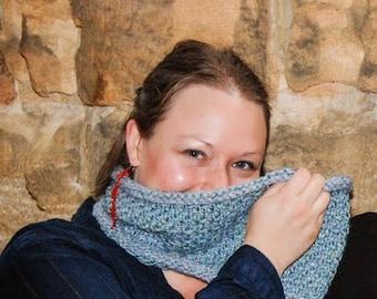 Instant Cowl Knitting Kit - Duckdown