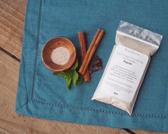 3.5oz Vegan Organic Fluoride Free Remineralizing Tooth Powder 100 grams 3-6 months supply