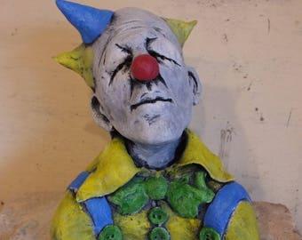 Akazka Clown sculpture