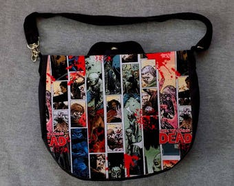 Walking Dead Cross Body Purse Messenger Bag