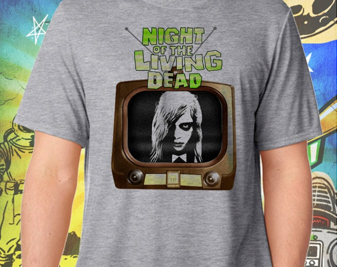 Night of the Living Dead / Men's Zombie Gray Performance T-Shirt