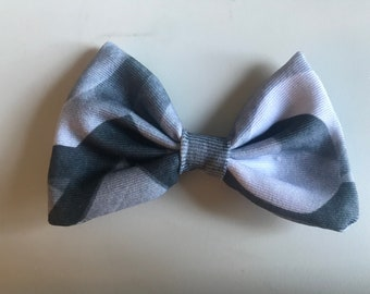 Gray Victorian Bow