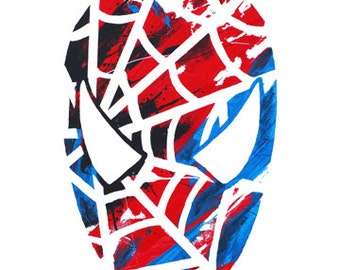 11x17 Spiderman Poster Print