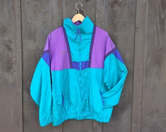 Columbia Track Jacket Womens Vintage