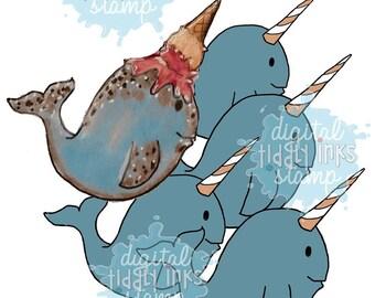 Narly Birthday Wishes | Digital Stamp