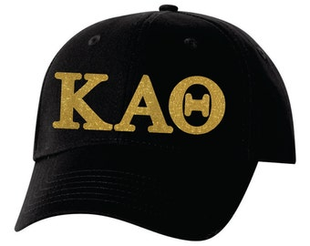 Kappa Alpha Theta hat, Kappa Alpha Theta gift, KAθ hat, KAθ, greek letters, greek hat, sorority hat, sorority gift, big little gift