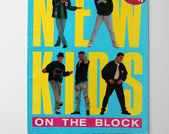 New Kids on the Block Photo Book 1990