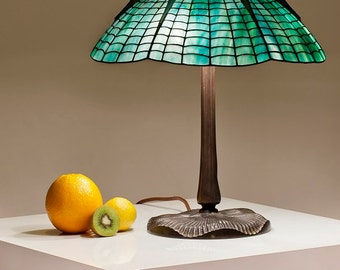 Tiffany Lamp, Tiffany Lamp Replica, Stained Glass, Table Lamp, Bedside Lamp, Home Decor, Stained Glass Table Lamp, Stained Glass Art, Lamps