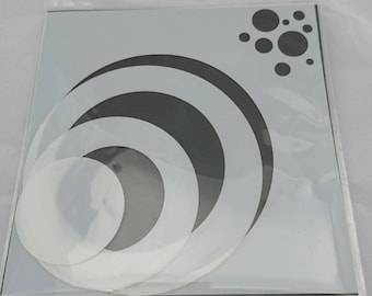 "Circles 6x6"" Stencil / Mask by Imagine Design Create"