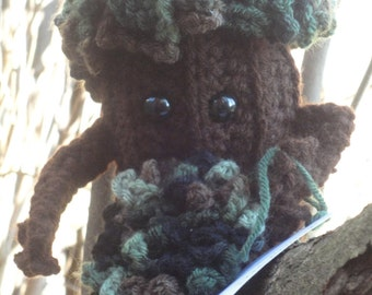 Crochet Treebeard the Ent Folklore Friend